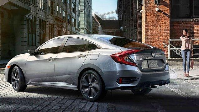Honda Civic Sedan Elegance 1.6 Otomatik Benzin: 209.600 TL