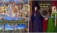 Kıyamet Günü'nün Tasvirinden İsa'nın Çarmıhtan İndirilmesine; Yaptıkları Resimlere Otoportrelerini Gizleyerek Etrafa Bakan 12 Zeki Ressam