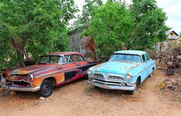Türkiye'de de 100'den fazla Amerikan klasik arabalarını görebileceğiniz bir yer var: Dalyan