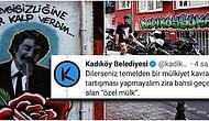Kadıköy Belediyesi'nin Duvardaki Graffiti ve Mural Çalışmalarını Kapatması Mülkiyet Tartışmasına Döndü