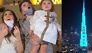 Çocukların Cinsiyeti İçin Burj Khalifa'ya Yaklaşık 100 Bin Dolara Yansıtma Yaparak Cinsiyet Öğrenme Partisi Düzenleyen Çift