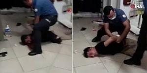 Kadına Şiddet Bitmiyor: Eşini Boğazından Bıçaklayan Adamı Vatandaşlar Engelledi