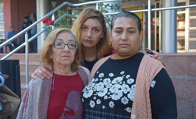 Davaya Işık'ın annesi Fatma Füsun Cebeciler ve ablası Başak İkizoğlu da katıldı.