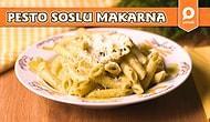 Evde Kolayca Hazırlanan, Kimsenin Hayır Diyemeyeceği Pesto Soslu Makarna Nasıl Yapılır?