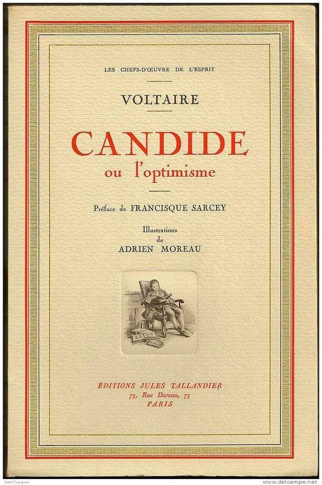 2. Voltaire- Candide