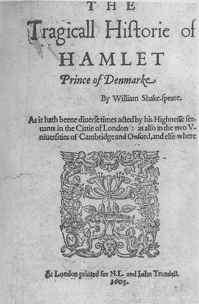 4. Shakespeare- Hamlet