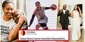 Film Değil Gerçek! Uğuruna Kariyerini Bırakıp Hukuk Okuyarak Eşini Hapisten Kurtaran Dünyaca Ünlü Basketbolcu: Maya Moore
