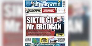 Yunan Gazetesinin Manşeti Kriz Yarattı: Büyükelçi Bakanlığa Çağırıldı