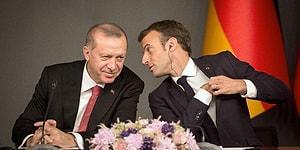 Macron'dan Türkçe Tweet: 'Türkiye'ye Net Çağrıda Bulunduk, Görünüşe Göre İşitilmiş'