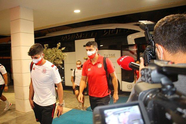 'Antalyaspor kafilesini, masrafları tarafımızca karşılanacak Kovid-19 tanı testi yaptırmaya davet ediyoruz'