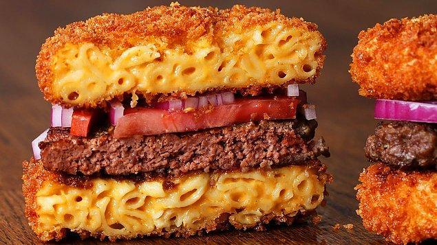 11. Mac and Cheese Burger