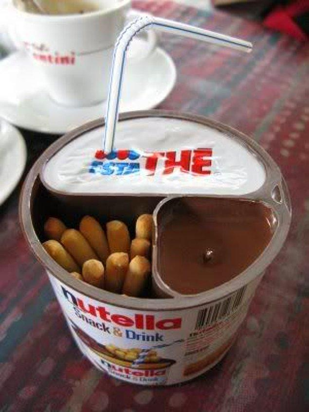15. Nutella Snack and Drink