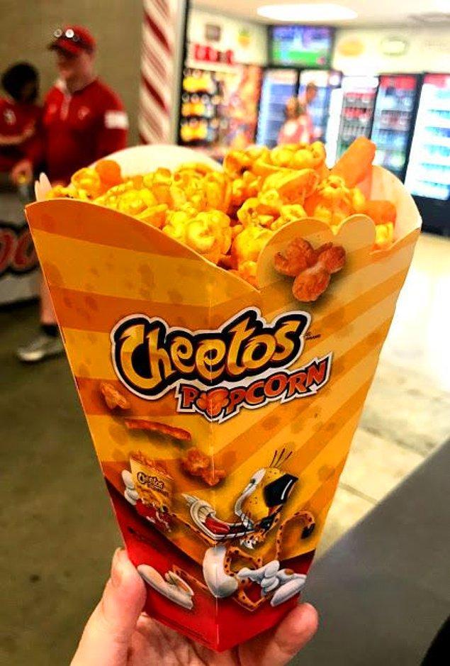 9. Cheetoslu Popcorn