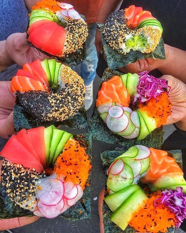 25. Sushi Donut