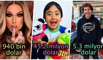 Bu Sayıları Duyunca Çok Şaşıracaksınız! Dünyanın En Çok Kazanan 26 YouTuber'ını Sizler İçin Sıraladık