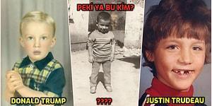 Onlar da Bir Zamanlar Çocuktu! Ülkemizdeki ve Dünyadaki Siyasi Liderlerin Küçüklük Fotoğrafları