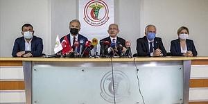 Kılıçdaroğlu'ndan TTB'ye Ziyaret: 'Virüs ile Mücadele Edenler Terörist Oluyor, Hayatımda Duyduğum En Saçma Şey'