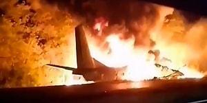 Ukrayna'da Askeri Uçak Düştü: En Az 22 Kişi Hayatını Kaybetti