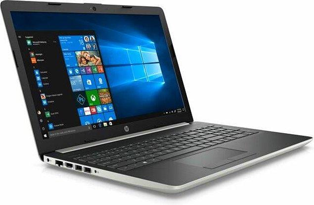 "3) HP 15-DA2002NT 8BM99EA i5-10210U 8 GB 256 GB SSD MX110 15.6"" Notebook"