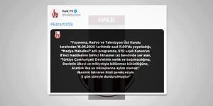 Halk TV Ekranları RTÜK Kararı Doğrultusunda 5 Gün Karartıldı