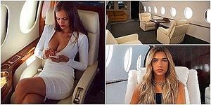 Artık Şaşırtmıyorlar: Bazı Influencer'ların Özel Uçakta Poz Vermiş Gibi Görünmek İçin Uçak Görünümlü Set Kiraladıkları Ortaya Çıktı