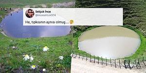 'Eski Haline Döndü' Başlığı Tepki Çekti: Dipsiz Göl'ün Son Durumu Sosyal Medyanın Gündeminde