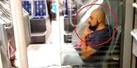 Maskesiz Bir şekilde Bindiği Metrobüste Bacaklarını Uzatarak Sigara İçen Sülalesi Rahat Adam