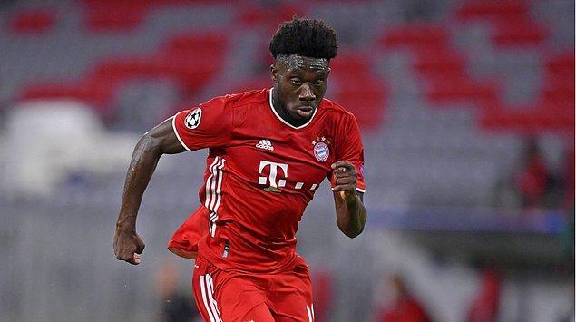 19. Alphonso Davies - 80 milyon euro