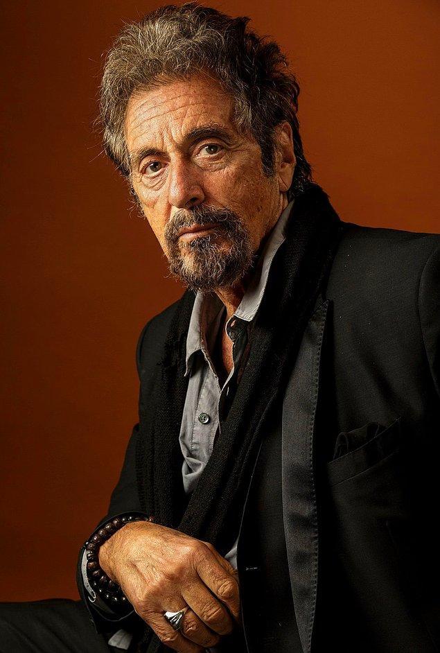 4. Ödüllere doymayan oyunculuk kariyerine ağırlık vererek hiç evlilik yapmayan 80 yaşındaki Al Pacino'nun 3 çocuğu var.