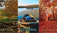 Ağaçtan Düşen Her Yaprak İçin Bir Rota Çiziyoruz: Türkiye'nin Dört Bir Yanından Sonbaharda Bir Başka Güzel Olan 30 Gezi Durağı