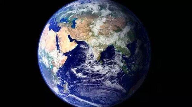 8. Dünya'nın Ekvator'dan şişkin, kutuplardan basık olan kendine özgü şekline Geoid denir. Dünya geoid şekle sahip olmayıp tam bir küre şeklinde olsaydı aşağıdakilerden hangisi gerçekleşmezdi?