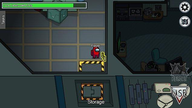 Bir görev oyunu diyebileceğimiz 'Among Us'ta, 'impostor' ve 'crewmate' olmak üzere iki grup bulunmaktadır.