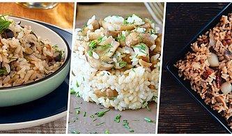 Yemeğe Karar Verdik Şimdi Sıra Pilavda! Bayılarak Yiyeceğiniz Çeşit Çeşit 12 Farklı Pilav Tarifi