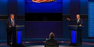 Trump ve Biden Karşı Karşıya: İlk TV Münazarasına Suçlama ve Hakaretler Damgasını Vurdu