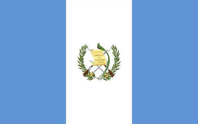 6. Guatemala?
