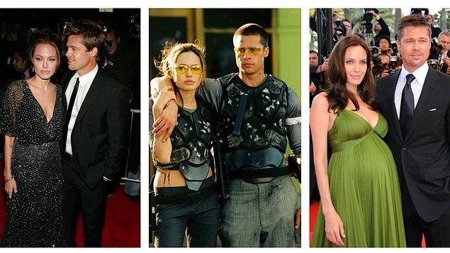 13. Brad Pitt - Angelina Jolie