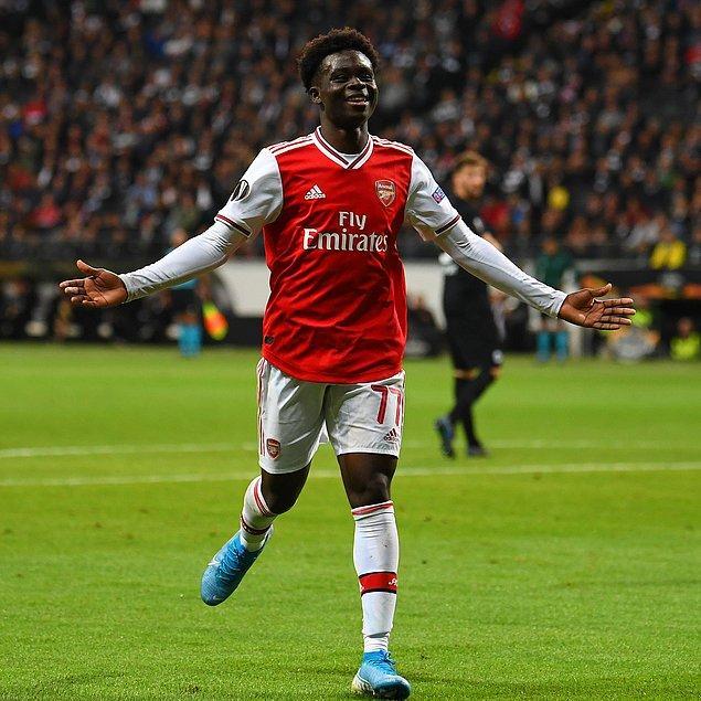 13. Bukayo Saka / Arsenal / 35 milyon €