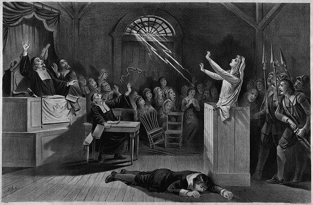 6. Salem cadı mahkemelerinde iddia edilenin aksine kimse yakılmamıştı. Asılanlar ve hapiste ölenler olmuştu.