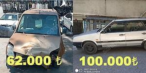 25 Yaşında 100 Binlik Araba: İkinci Elde Fiyatların Yükselişini Fırsat Bilip İşi Biraz Abartan Araç Sahipleri
