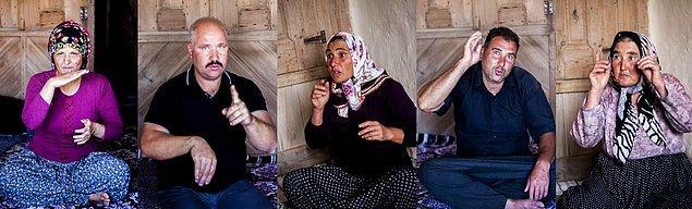 Buradaki insanlar Türk İşaret Dili'nden bağımsız kendi ürettikleri dil ile anlaşıyorlar.