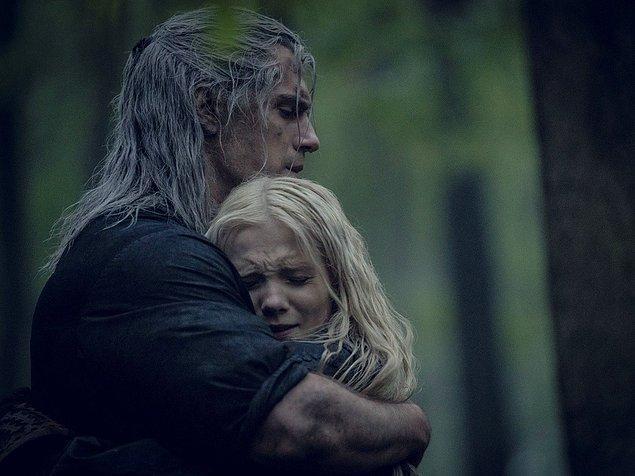 2. sezonda, Geralt'ın Ciri'yi koruma altına almasına şahit olacağız. Aynı zamanda, Ciri'ye özel güçlerini nasıl kullanacağını öğretecek.