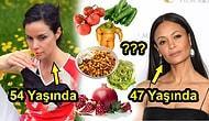 Afrodit Mübarek! 20 Yaş Genç Görünen Ünlü Bitki Uzmanı Hangi Yiyecekleri Nasıl Yememiz Gerektiğini Anlattı!