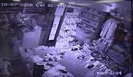 Hırsızlık İçin Girdikleri Dükkanda Televizyonu Açıp İzleyen Adamlar