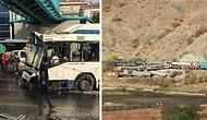 Ankara Güne Otobüs ve Tren Kazalarıyla Uyandı: Ölü ve Yaralılar Var