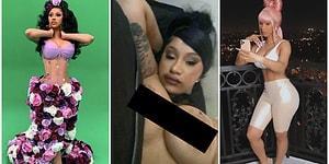 Skandal Üstüne Skandala İmzasını Atan Cardi B Bu Sefer de Instagram Hesabından Yanlışlıkla Memesini Paylaştı