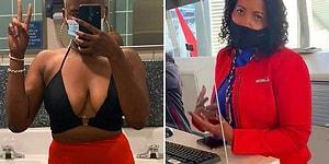 Göğüs Dekolteli Elbisesi Yüzünden Uçağa Alınmayan Kadın: 'Uçuşuma Alınmadım Çünkü Göğüslerim Çok İffetsiz, Açık ve Müstehcen'