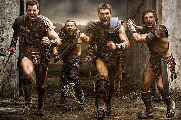 14. Spartacus (2010-2013)