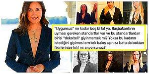 Finlandiya Başbakanı Sanna Marin'in Bir Dergi İçin Verdiği Dekolteli Poz 'Uygunsuz' Görüldü, Kadınlardan Destek Gecikmedi