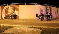 Kazalara Sebep Olabilirmiş: Karayolları, Bolu Belediyesi'nin Çizdirdiği Portreleri Silmeye Çalıştı, Vatandaş Set Çekti