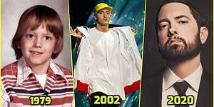 Rap Tanrısı 48 Yaşında! Yaşayan Efsane Eminem'in Hayatından Satır Başları